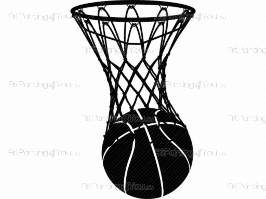 Adesivi murali pallacanestro - Immagini stampabili di pallacanestro ...