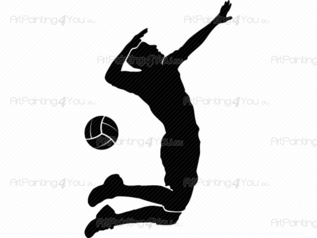 Vinilos Decorativos De Voleibol