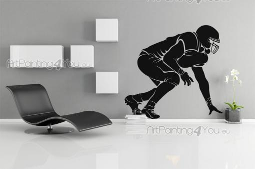 American Football Player - Sport Wall Stickers
