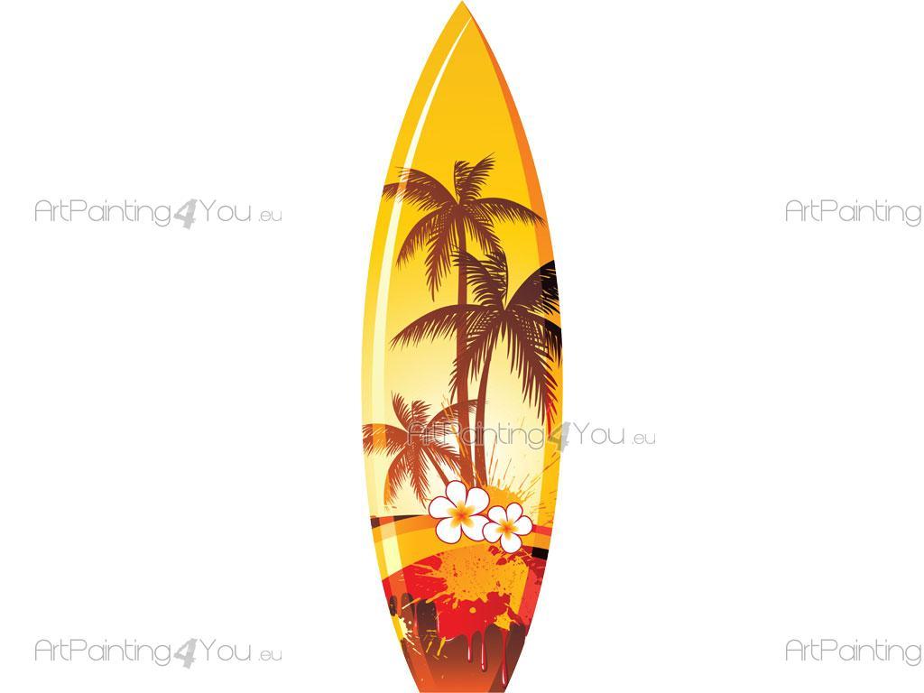 vinil decorativo prancha surf artpainting4you eu vdd1060pt