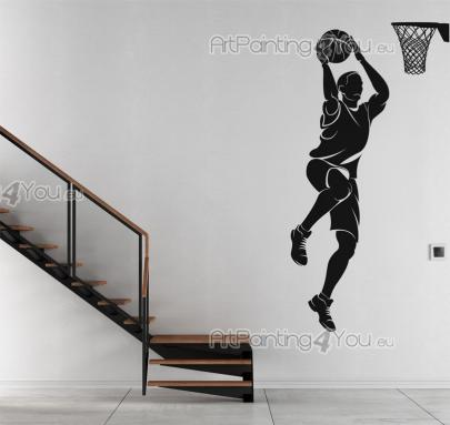 Basketball Player - Sport Wall Stickers