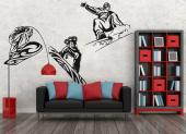 Snowboarder (Kit) - Wallstickers Sport