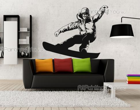 Snowboarder - Sport Wall Stickers