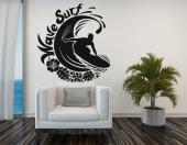 Surfeur - Stickers Muraux Sport