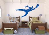 Sport Wall Stickers - Wall decals for football lovers! The goalkeeper is the player who has to get everything right when the rest of the team doesn't. Show the kind of play...
