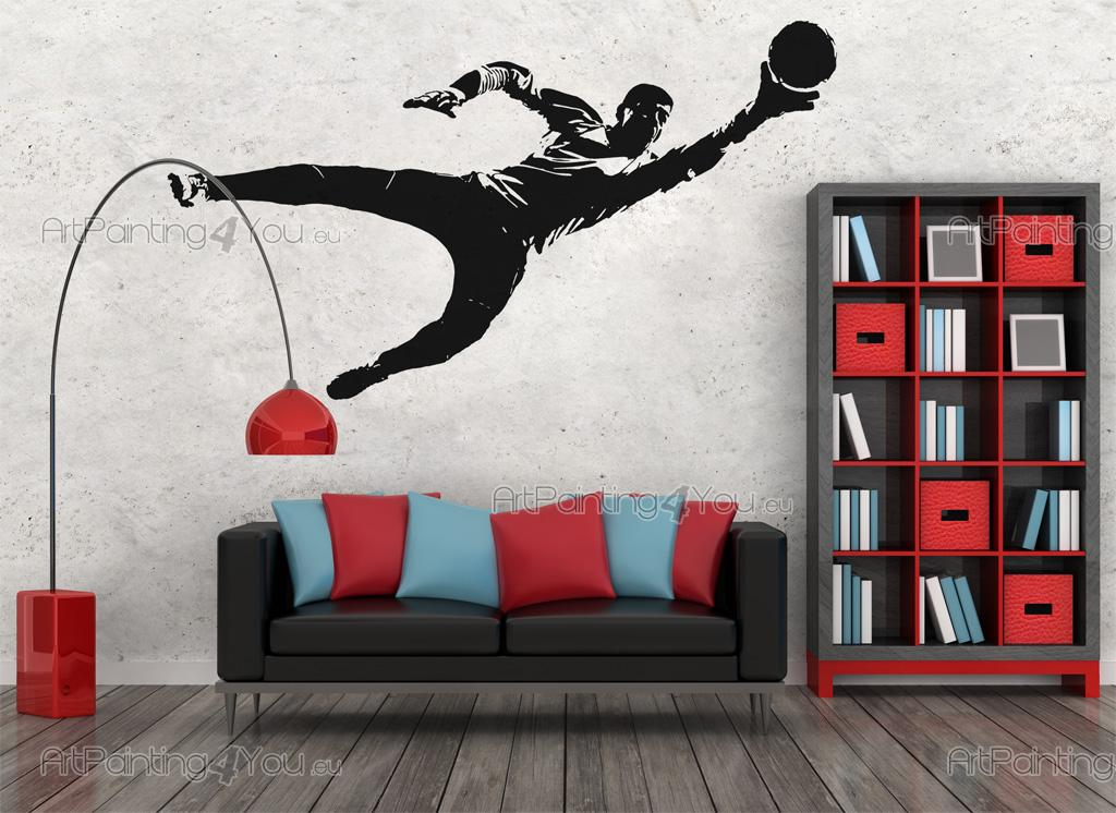 Wall Decals Football Goalkeeper Artpainting4you Eu