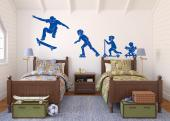 Skateboarder (Kit) - Wallstickers Sport