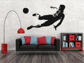 Sport Wall Stickers - Wall stickers for sporty bedrooms! Football is all about teamwork, speed, endurance and tactics. Show what kind of technique you like the most with de...
