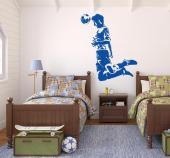 Sport Wall Stickers - Wall decals for sports fans! Do you play football with your friends or even plan to become a professional player? Show your love for football with an ...