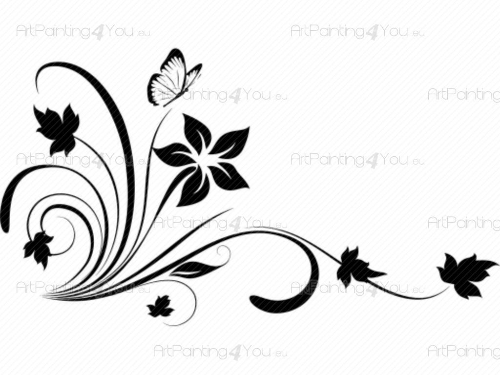 29e88fa19f5 Vinilos Decorativos Florales - La delicadeza de una flor puede cambiar el  ambiente en una habitación