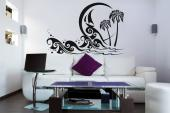Palm Trees & Waves - Wall Decals