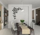 Abstract Rose - Florals Wall decals