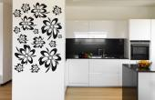 Abstract Flowers - Florals Wall decals