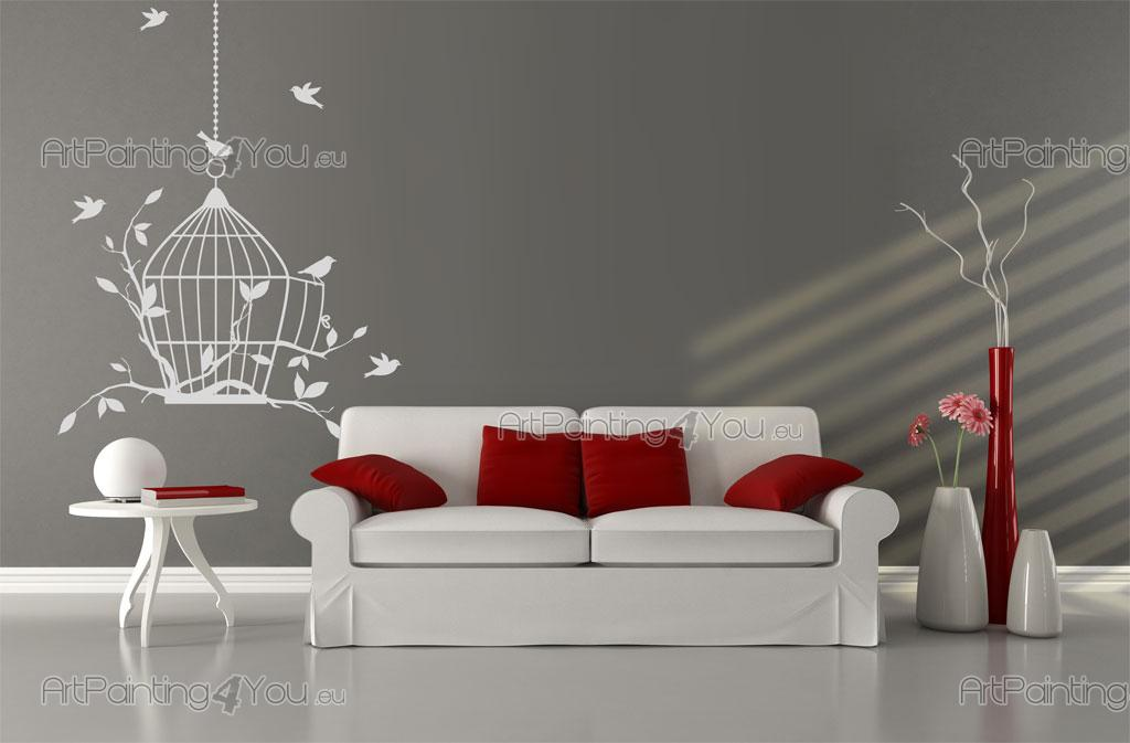 Birdcage - Animals Wall Decals