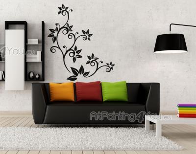 Väggdekor Alfabetet : Väggdekor c quot välkommen hem till oss dekorativt d