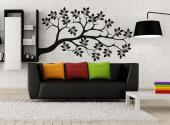 Wall Stickers - Wall decals on the theme of nature. Try to apply this sticker on a wall, next to wooden furniture; it will look like there's an actual tree branch com...