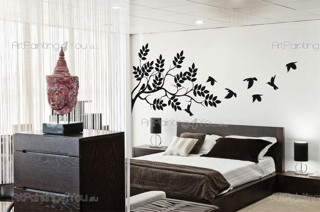 Stickers Muraux   Stickers Muraux Aux Silhouettes Parfaites Pour Une  Chambre à Coucher, En Particulier