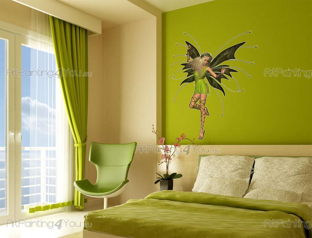 Stickers murali per camere ragazze fata artpainting4you for Decora la stanza girlsgogames