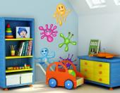 Colorful Drops (Kit) - Wall Decals for Kids