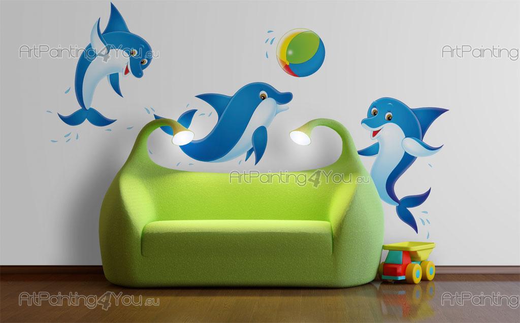wandtattoo baby delphine kit vdi1018de. Black Bedroom Furniture Sets. Home Design Ideas