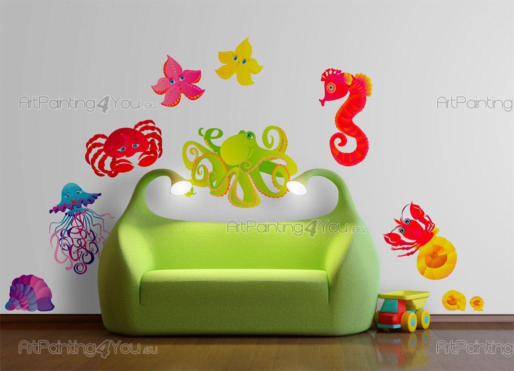 Stickers per camerette bambini adesivi per muro cameretta - Decorazioni muri stanzette ...