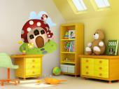 Wall Stickers for Kids - Wall decals for kids room. If you like to take long walks with your children on parks and woods, we suggest you decorate their bedroom with a forestal...