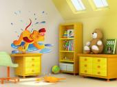 Wall Stickers for Kids - After a long night of rain, it is fun to take a walk outside and skip over water puddles with the children and the pets. Just be careful not to get to...