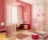 Flowers & Butterflies (Kit) - Wall Stickers for Kids