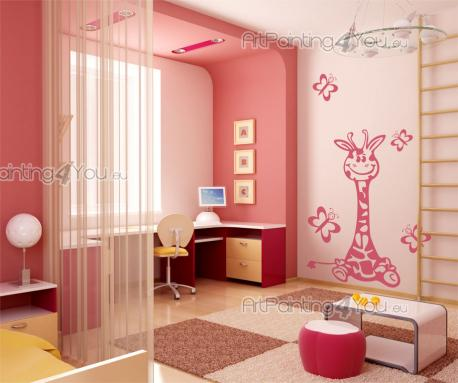 Wall Stickers for Kids - Animal wall decals! The decor of the nursery or kids room is almost finished and you just need to add a little something. We suggest a set of wall dec...