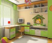 Fantasy Land - Let's go on a trip to splendid Ireland, the land of leprechauns, so full of many magical creatures! Here to guide you is a blonde fairy with a little green hat on. Place on a wall of the baby or kids room this wall decal with the fairy waiting for you on the frame of a little brick portal covered in clovers and ivies.