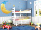 Wall Stickers for Kids - Wall decals for a long night of sleep! Let your baby or kid sleep calmly in the company of these stickers to be applied on walls and furniture, featur...