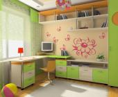 Flower & Butterflies (Kit) - Wall Stickers for Kids