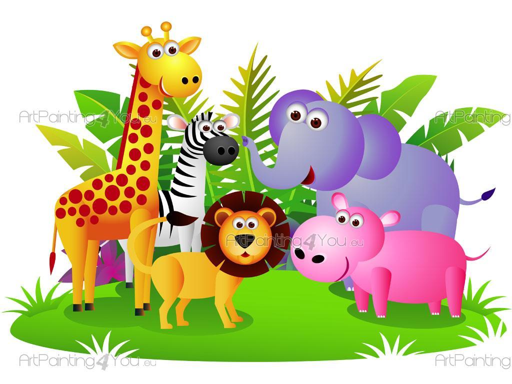 Vorhang Kinderzimmer Zoo : wandtattoo zoo kinderzimmer w035 wandtattoo kinderzimmer zoo baum