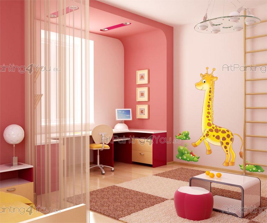 wandtattoo kinderzimmer giraffe kit vdi1089de. Black Bedroom Furniture Sets. Home Design Ideas