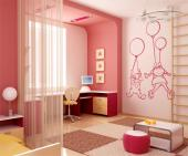 Wall Stickers for Kids - Children love balloons! They seem to float magically and can even reach the skies. Decorate the baby or kids room with this wall decals with a boy and...