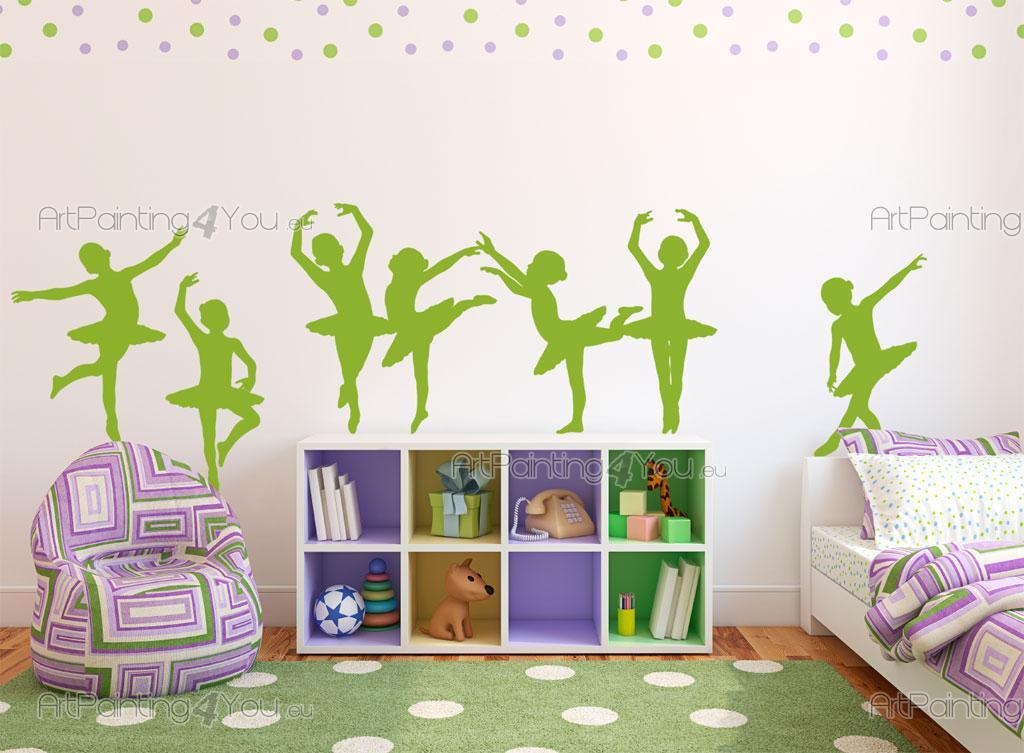 Väggdekor Alfabetet : Wallstickers barn artpainting you eu