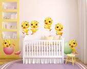 Wall Stickers for Kids - Before becoming roosters and hens, they were chicks. You were once a baby, harmless and fearful like a chick, and so is your newborn that will become ...
