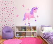 Unicorn (Kit) - Girls Wall Decals Princesses & Fairies
