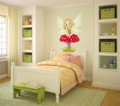 Girls Wall Stickers Princesses & Fairies - Embellish the room of a baby or kids with our wall stickers. Put above the cradle or the headboard of a little girl this wall decal with a sweet, youn...