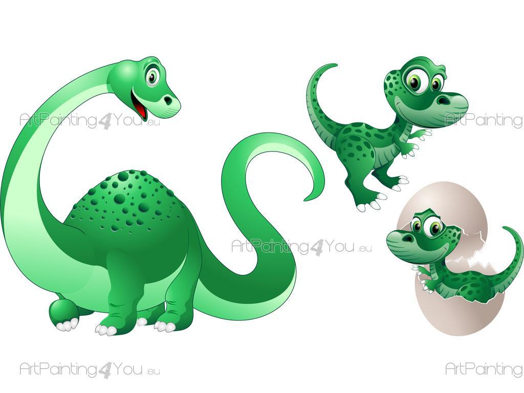 Vinilos infantiles dinosaurios kit - Imagenes de vinilos infantiles ...