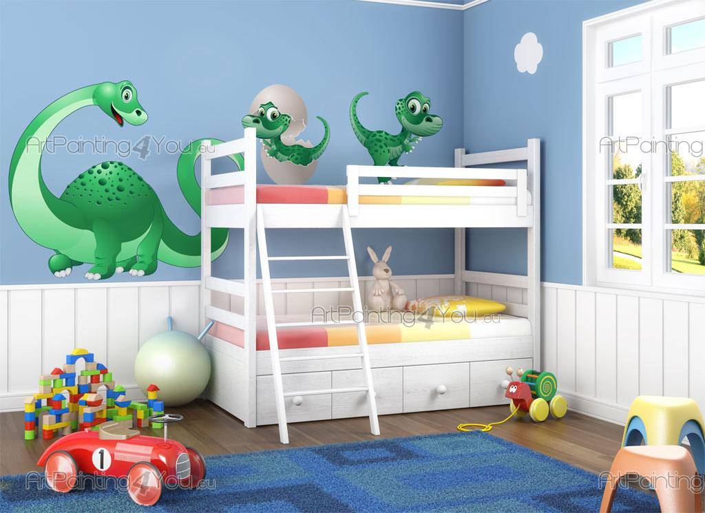 Vinilos Infantiles Dinosaurios Kit