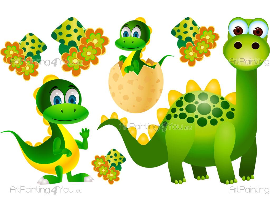 imagens de dinossauros coloridos
