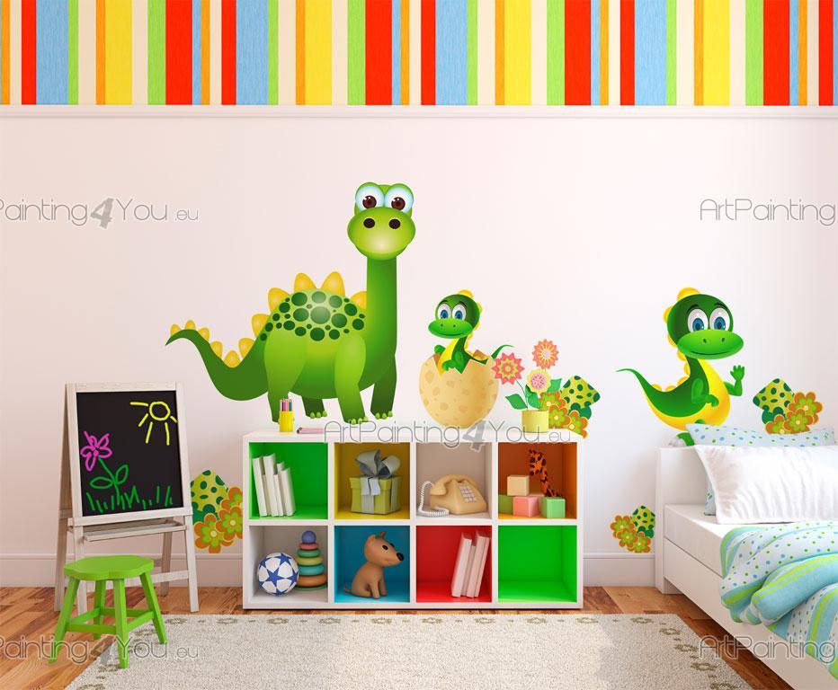 Dinosaurier (Kit)   Wandtattoo Kinderzimmer