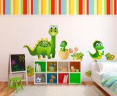 Wall Stickers for Kids - We never got to meet real dinosaurs, but thanks to fossils we can imagine what they looked like and invite them to join our collection of wall sticker...