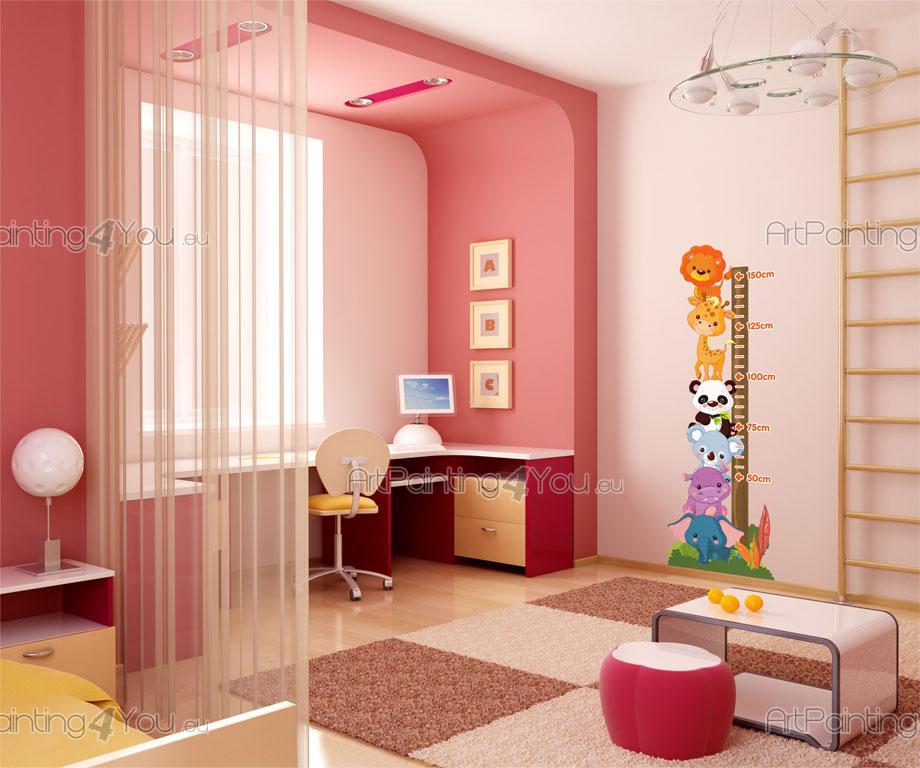 stickers chambre b b m tre animaux jungle 1516fr. Black Bedroom Furniture Sets. Home Design Ideas