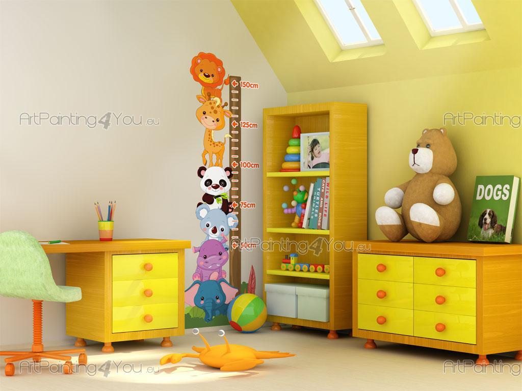 wandtattoo & wandsticker kinderzimmer und babyzimmer messlatte