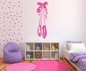 Ballet Slippers - Wall Stickers for Kids