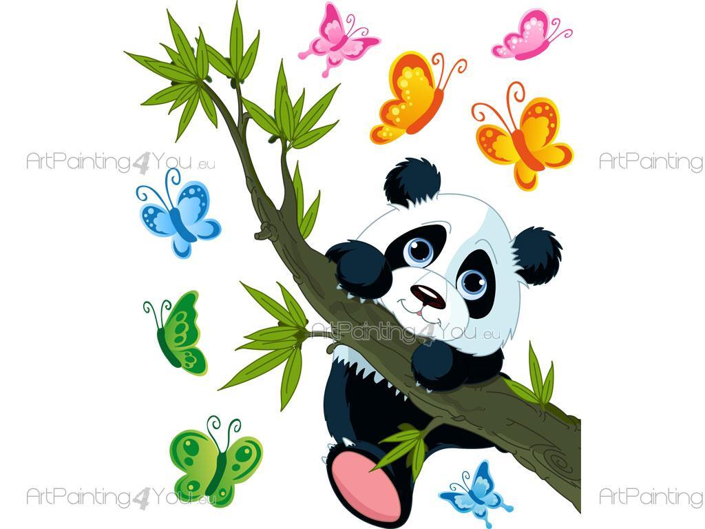 Vinilos infantiles oso panda 1670es - Imagenes de vinilos infantiles ...