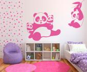 Panda Bear - Wall Stickers for Kids