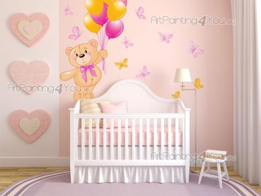Wall Stickers for Kids - Wall decals for nurseries and baby rooms! Help your child summon the nicest dreams with these stickers. Place above the cradle or the headboard a litt...